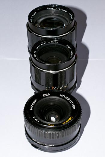 Objectif M42 vs Nikon